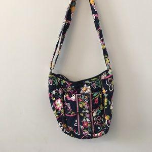 Vera Bradley Saddle Bag - Ribbons